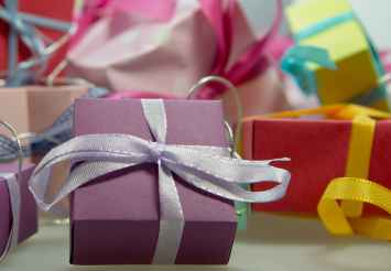decoration gifts presents ribbons